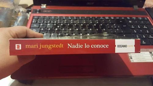 nadie lo conoce, mari jungstedt, usado original