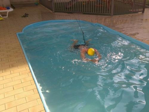 nado estacionado, elástico para nado estacionario