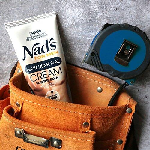 nads for hombre crema depilatoria 68 oz