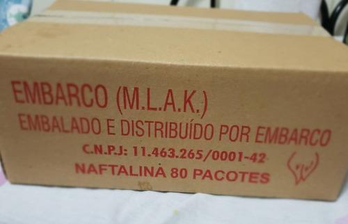 naftalina 32g caixa c/80 unidades, atacado para revendedor