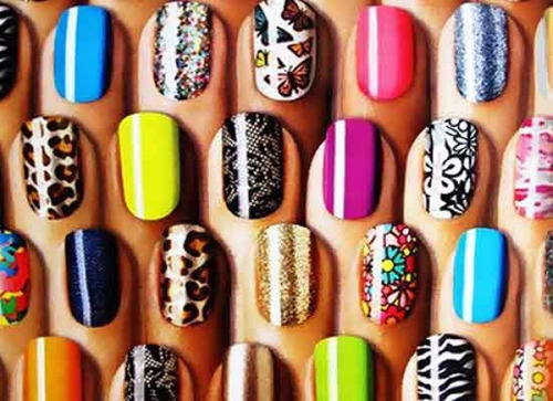 nail art decoración uñas