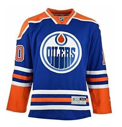 timeless design 8ff63 2feca Nail Yakupov Edmonton Oilers 10 Blue Premier Youth Jersey