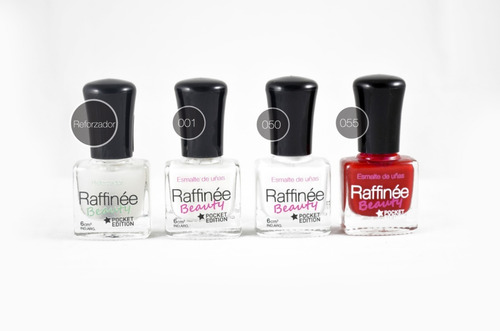 nails kit - esmalte raffinée beauty - pocket edition
