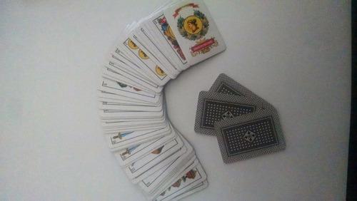 naipe español mini plastificado souvenir regalo cotillón