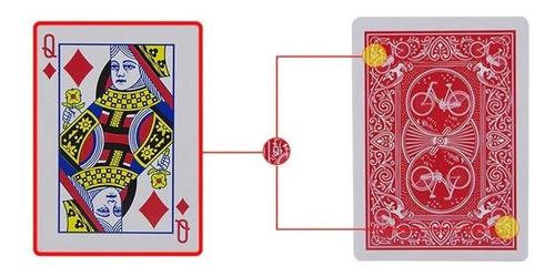 naipe ingles marcado reverso magia trampa poker tipo bicycle
