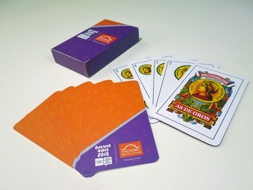 naipes cartas españolas personalizadas publicidad souvenirs