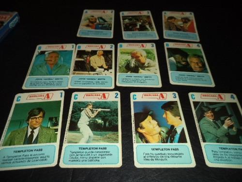 naipes cromy brigada a retro caja carton incompletas años 80
