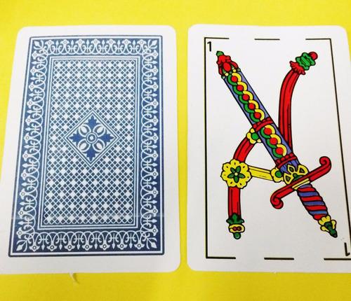 naipes españoles cartas