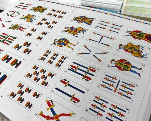 naipes españoles publicitarios personalizados, souvenirs