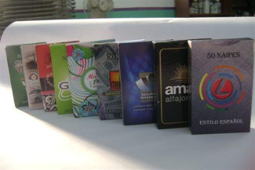naipes personalizados publicitarios - regalos empresariales