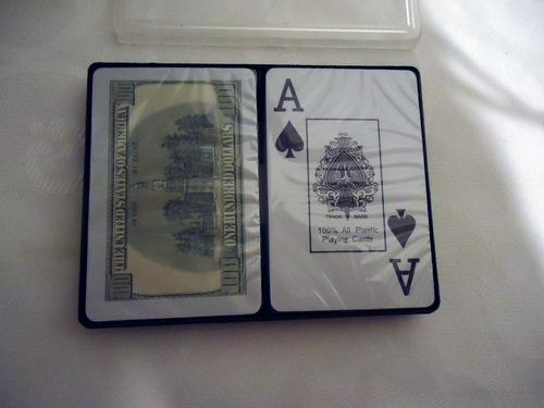 naipes royal original 100% plastificas profesionales cartas
