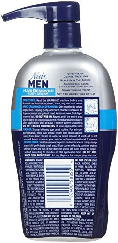 nair men crema depilatoria - 13 oz- envío gratis