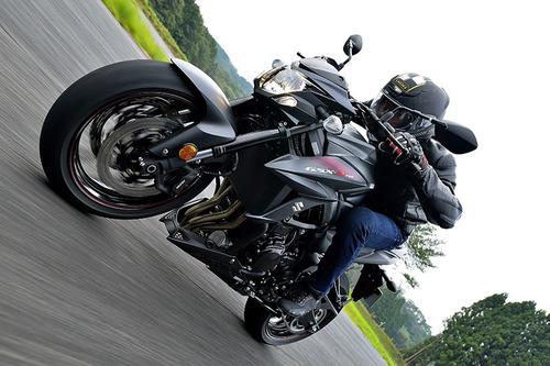 naked 750 motos moto suzuki