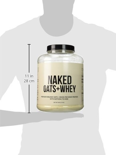 naked oats + whey - organic oats & grass fed whey protein