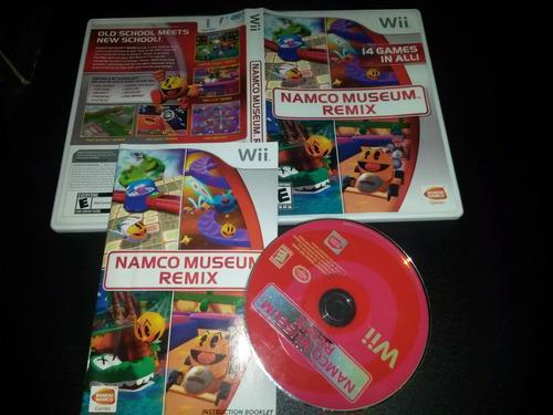 namco museum remix juego wii usado en buen estado