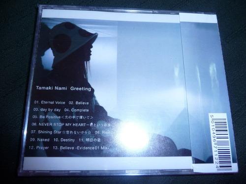 nami tamaki greeting cd 2004 nuevo jpop japon
