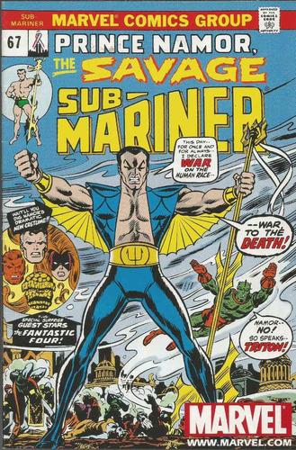 namor the savage sub-mariner 67  marvel  bonellihq cx112 i19