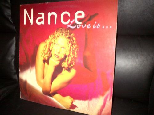 nance - love is... dance 90s vinyl maxi