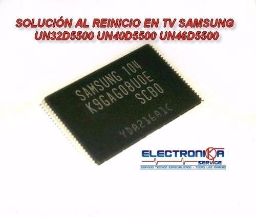 nand flash un32d5500 un40d5500 un46d5500 k9gag08u0e-scb