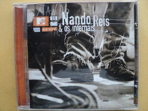 nando reis e os infernais- cd mtv ao vivo- 2004- zerado!