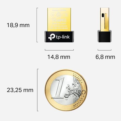 nano adaptador bluetooth tp link ub400 v4.0 plug & play w10