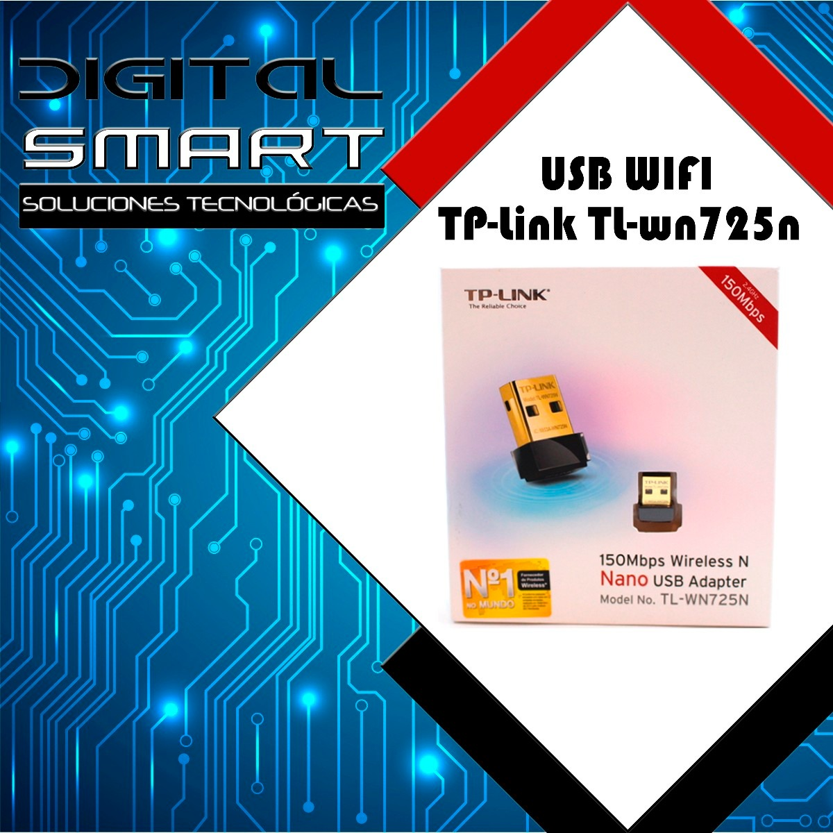 Nano Adaptador Usb Wireless N Tp Link Tl Wn725n Wifi 150mbps Us 8 Adapter 150 Mbps Cargando Zoom