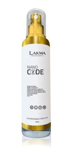 nano code previne  envelhecimento precoce lakma  50ml