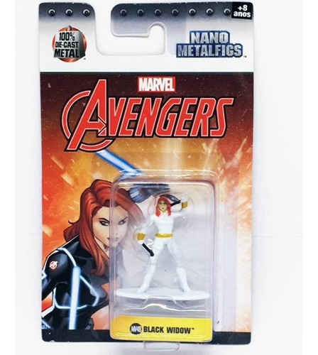 nano metalfigs superheroes advengers metal 4,5cm original