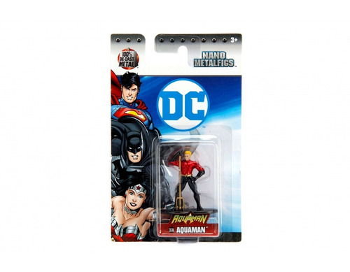 nano metalfigs  superheroes dc metal jada 4,5cm regalosleon