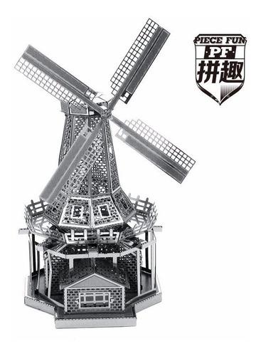 nano puzzle maqueta 3d metálica piece fun como metal earth
