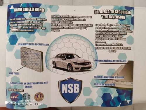 nano tecnología la nueva proteccion para el cristalazo