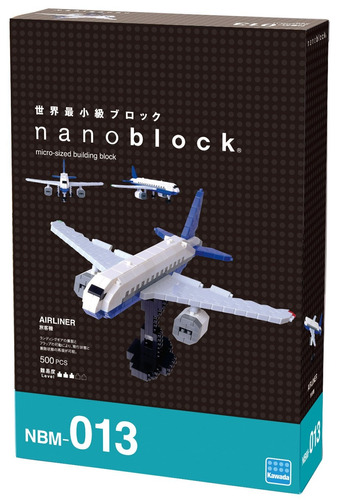 nanoblock airliner building kit