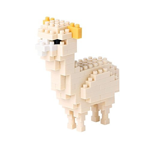 nanoblock alpaca building kit