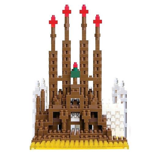 nanoblock catedral sagrada familia mini bloques ármalo tu