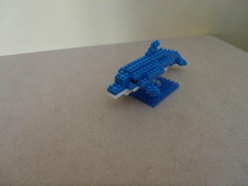 nanoblock delfin (nbc-003) nivel 1 envio gratis!! kikkoman65