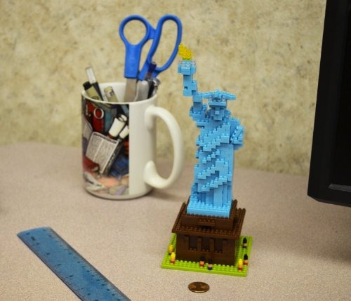 nanoblock estatua de la libertad