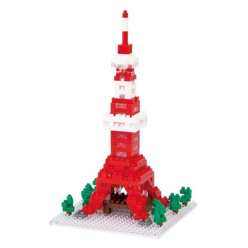 nanoblock torre de tokyo ed. especial led bloques ármalo tú