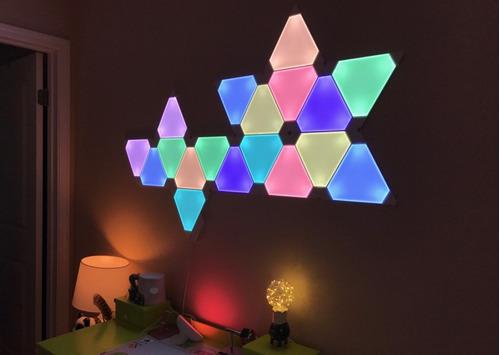 nanoleaf aurora smarter kit light 9 painéis rgb lacrado