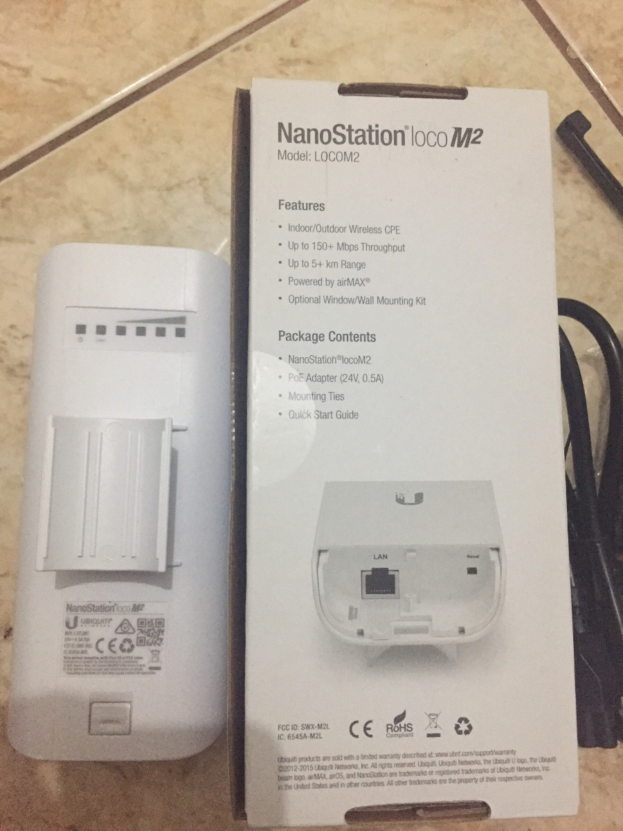Nanostation Loco M2 Mimo Ubiquiti Nanoloco M2 Airmax 2 4 Ghz