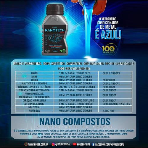 nanotech 1000 condicionador de metais - koube