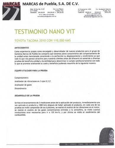 nanovit potenciador nanotecnológico para motores de motos