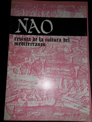 nao revista de la cultura del mediterráneo n 35/36 excelente