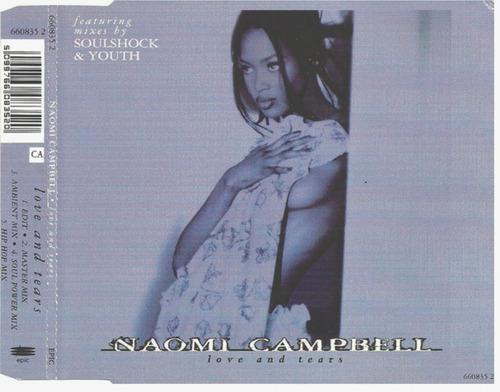 naomi campbell - love and tears (cd single)