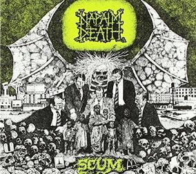 Napalm Death Scum Usa Import Cd Nuevo