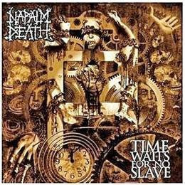 napalm death time waits for no slave cd nuevo