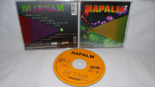napalm - zero to black ( thrash usa 80s steamhammer '90)
