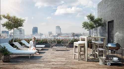 nápoles, desarrollo de solo 10 exclusivos departamentos en excelente ubicación