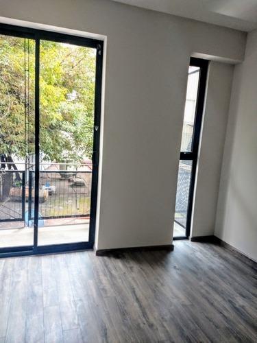 nápoles, súper departamento con balcón y amenidades