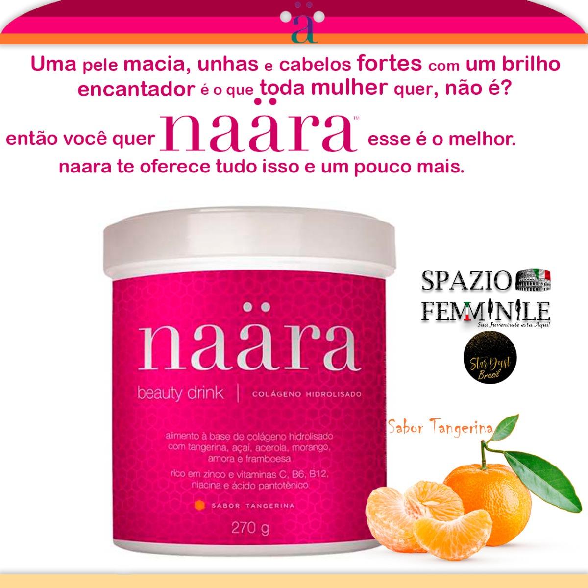 52b26db0b Naära Beauty Drink À Base De Colágeno Hidrolisado O Melhor - R  83 ...