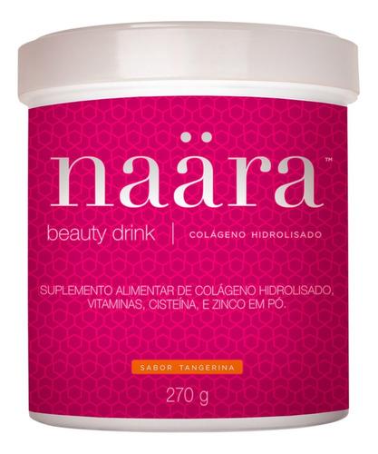 naära jeunesse - colágeno beauty drink tangerina - 270g